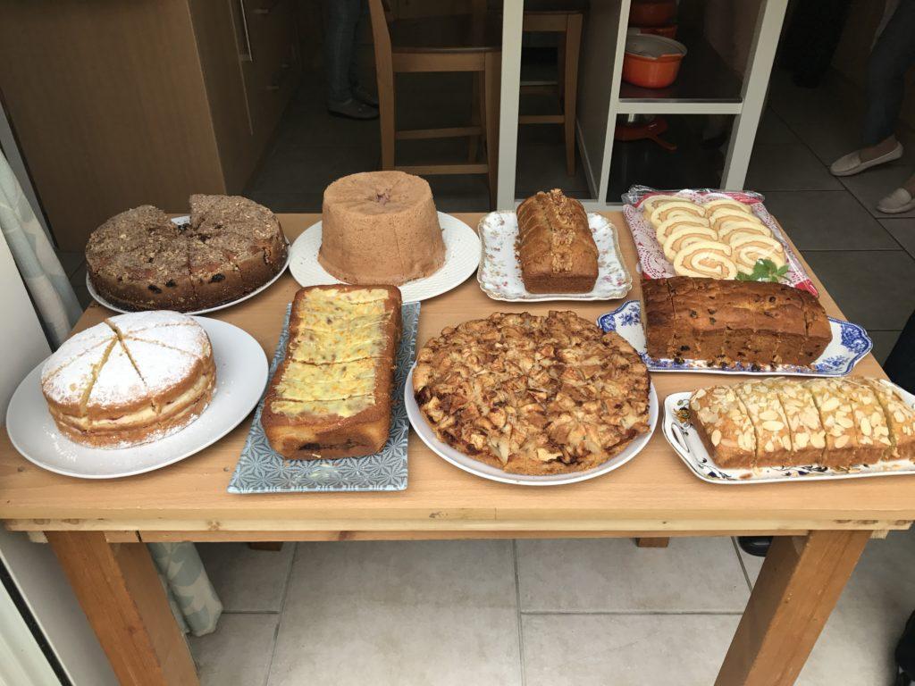 Cake English garden