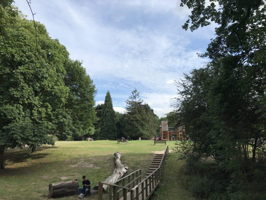 ゴルダーズヒルパーク GoldersHillPark 公園 ロンドン