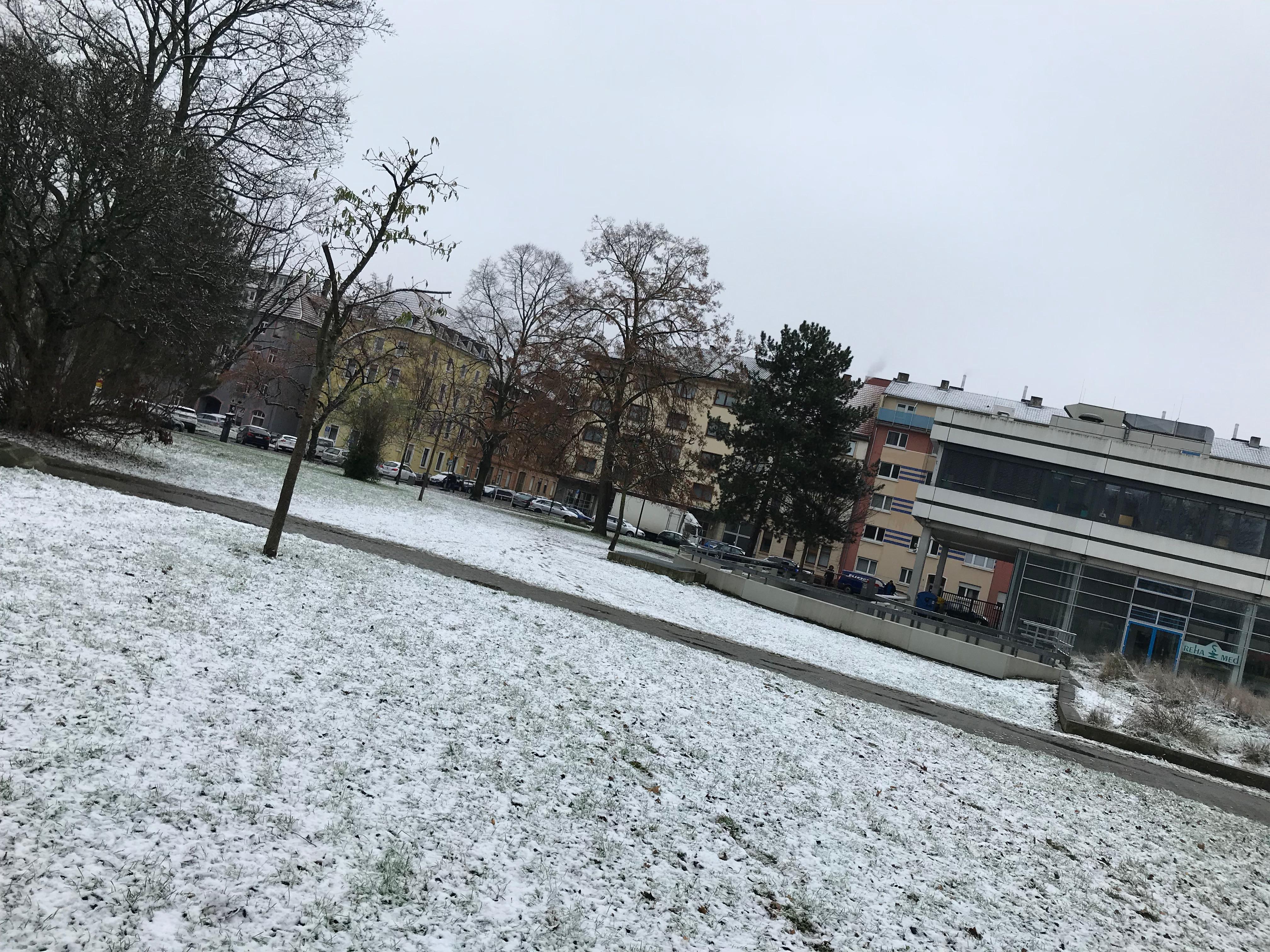 ハイデルベルク雪景色