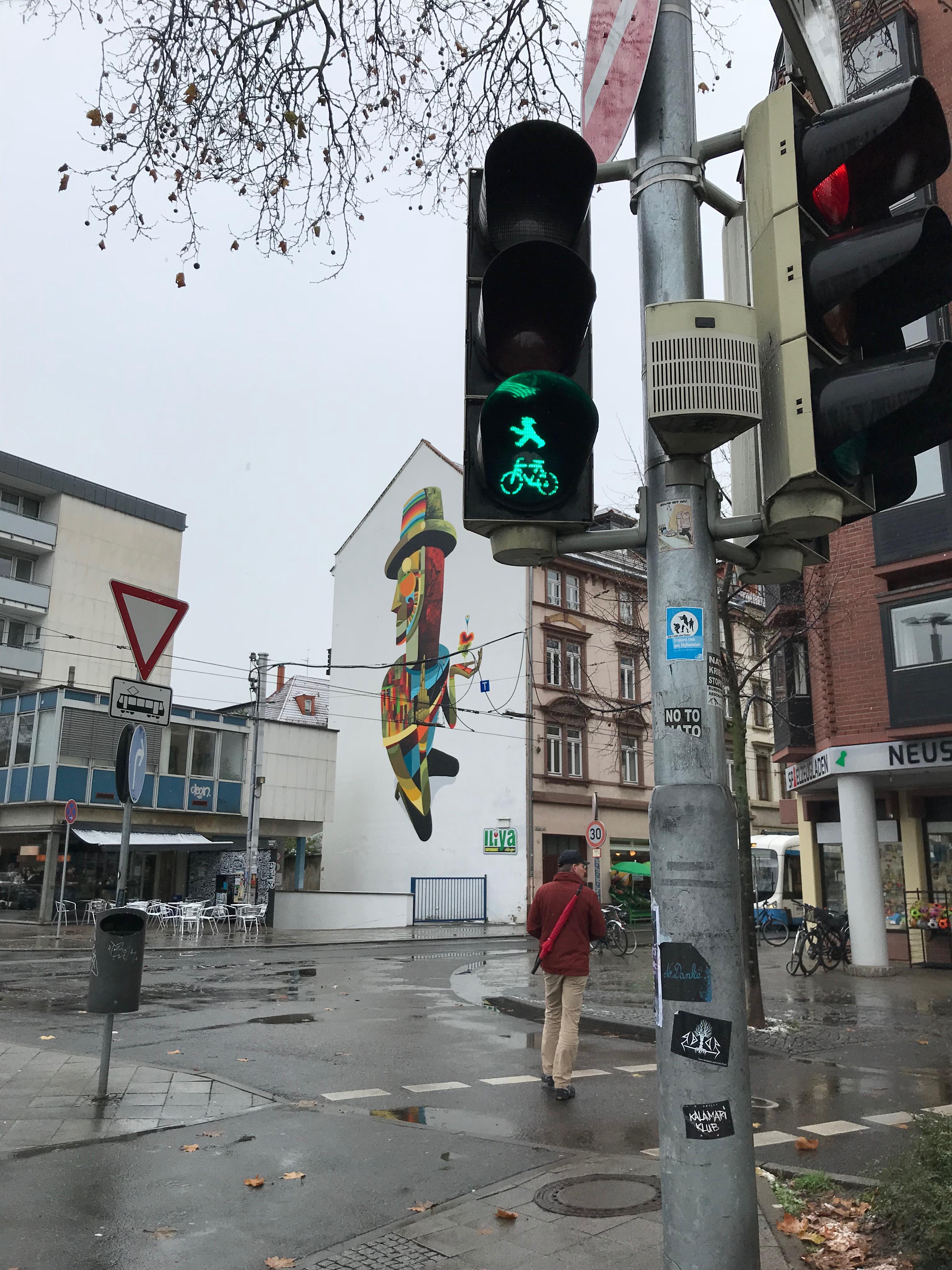 ハイデルベルクの信号機