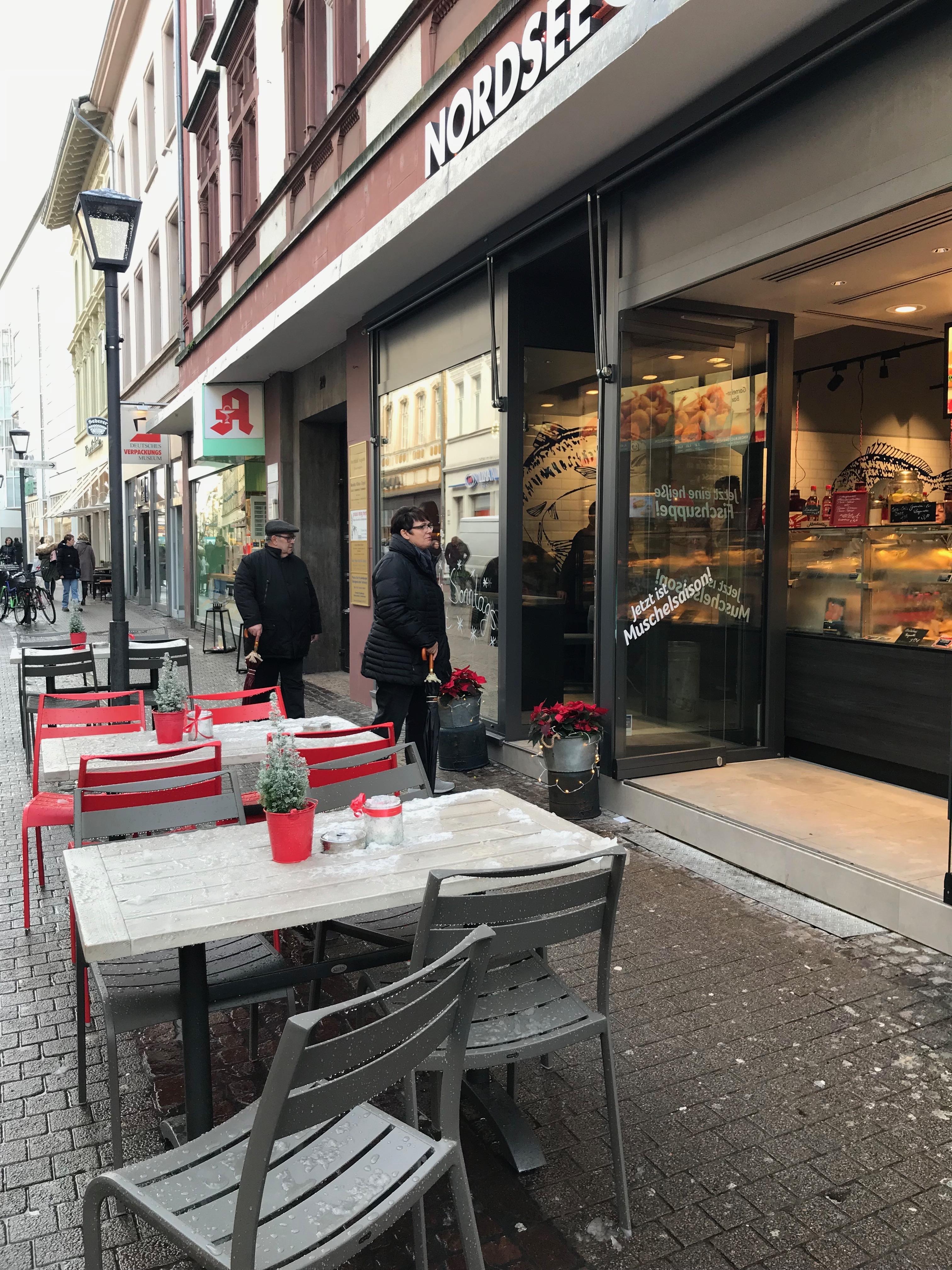 ハイデルベルクのカフェ