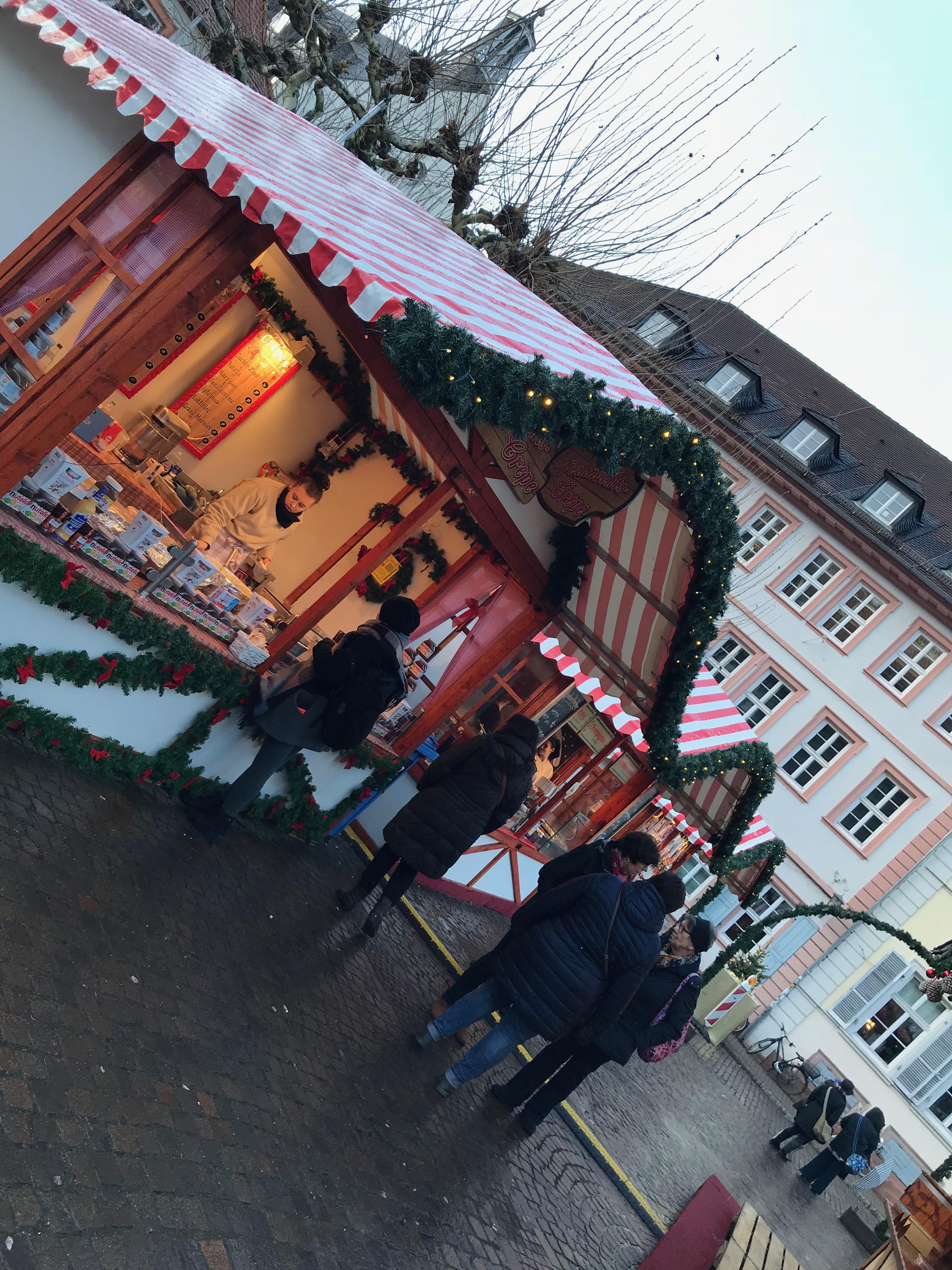 ハイデルベルクのクリスマスマーケット
