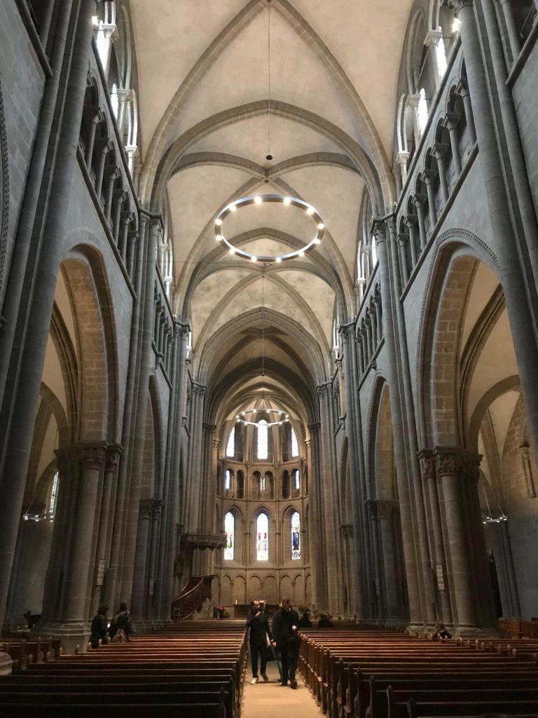 サン・ピエール大聖堂中の様子